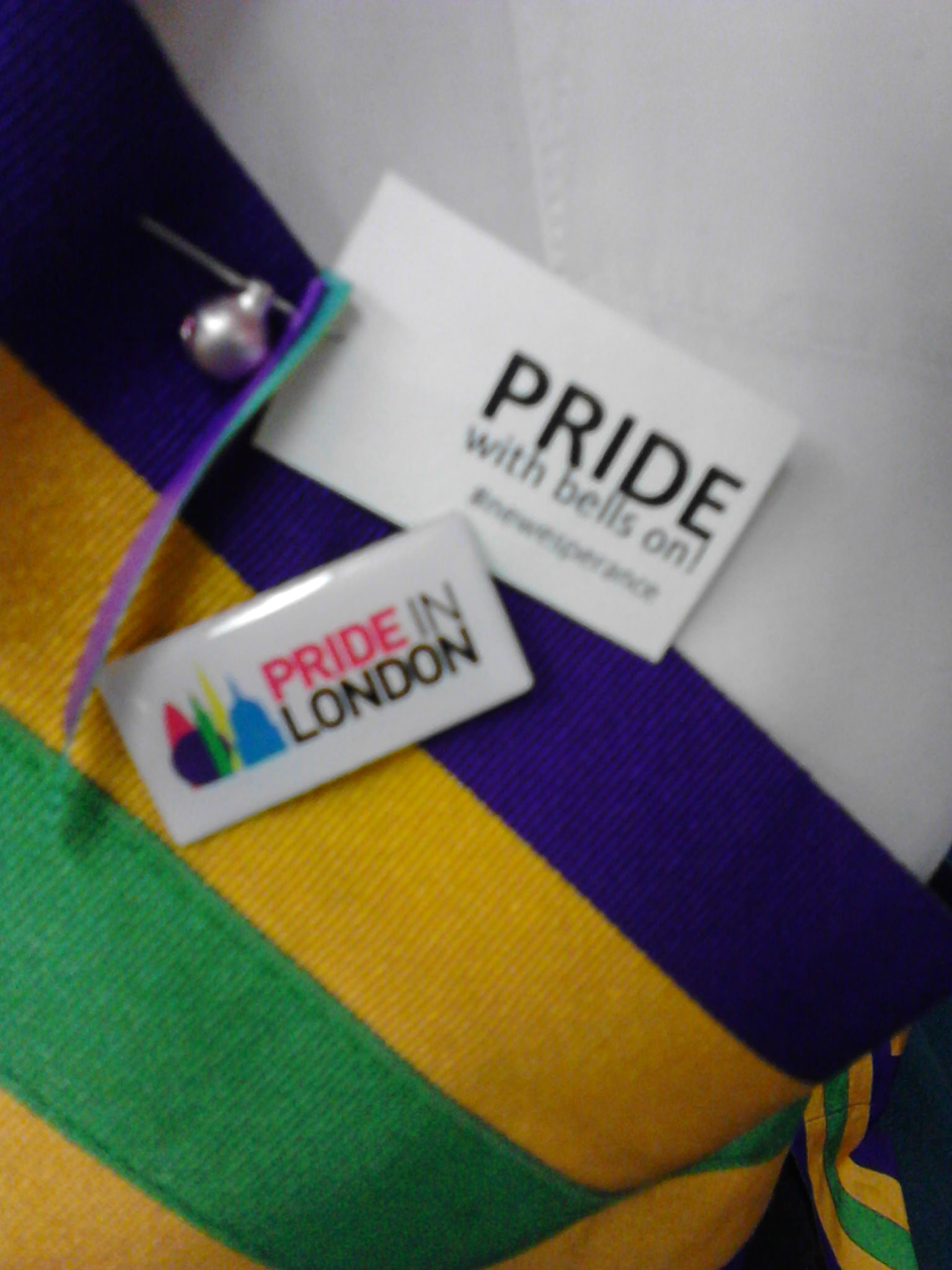 #PrideInLondon, pride, bells, LGBTQ, Morris dancing